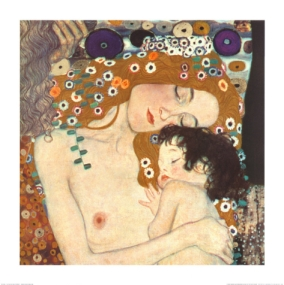 Gustav Klimt, Mother and Child, 1905